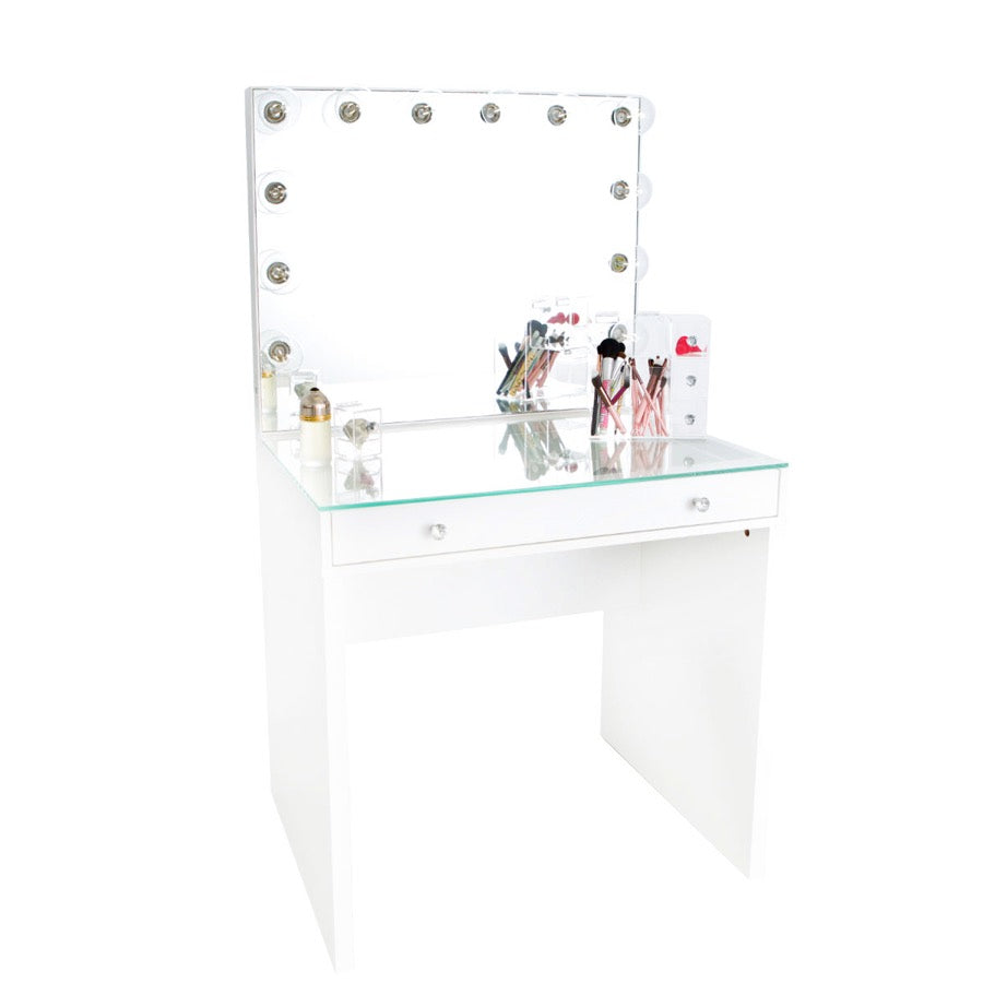 Slaystation 174 Mini Table Glow Plus Vanity Mirror Bundle