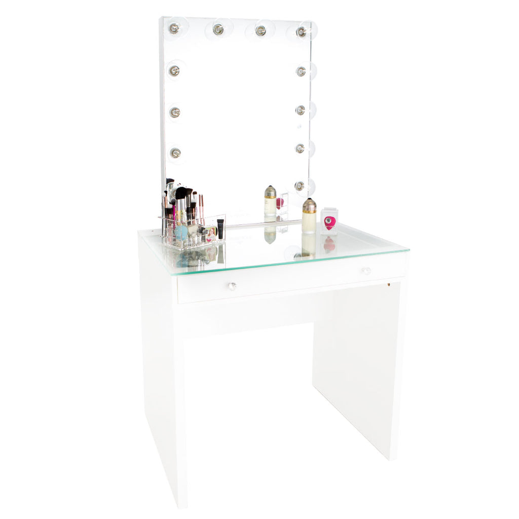 Slaystation Mini Table Vanity Mirror Bundle Impressions Vanity Co