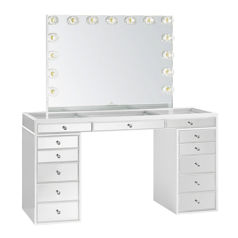 SlayStation® Pro Premium Mirrored Vanity Table