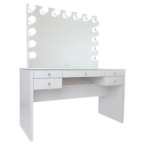 SlayStation® Plus 3.0 Table + Glow Pro Vanity Mirror Bundle