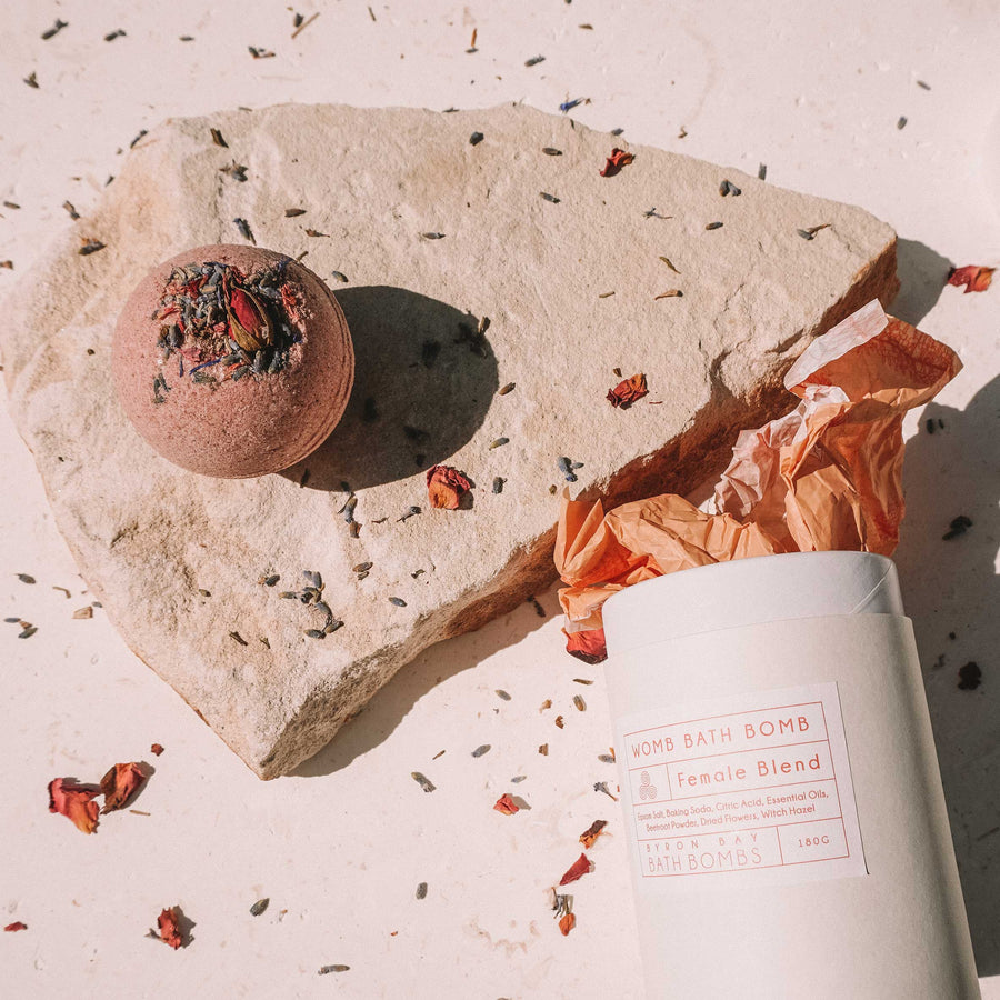 BYRON BAY BATH BOMBS - WOMB