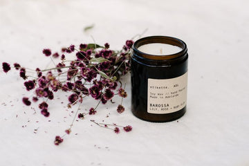 ETIKETTE CANDLES - BAROSSA // LILY, ROSE + RUBY PLUM 175ml