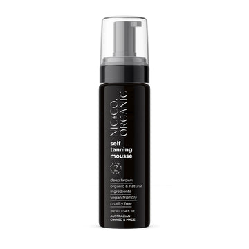NIC & CO ORGANIC - SELF TANNING MOUSSE