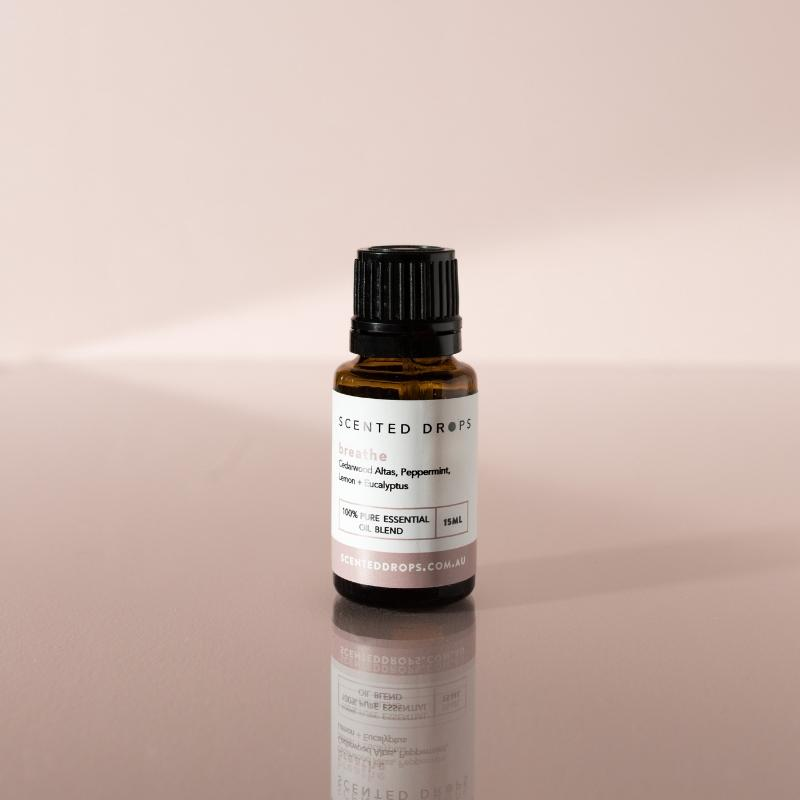 SCENTED DROPS - BREATHE PURE ESSENTIAL OIL BLEND