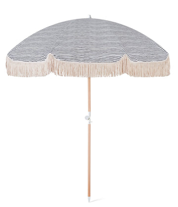 SUNDAY SUPPLY CO - NATURAL INSTINCT BEACH UMBRELLA