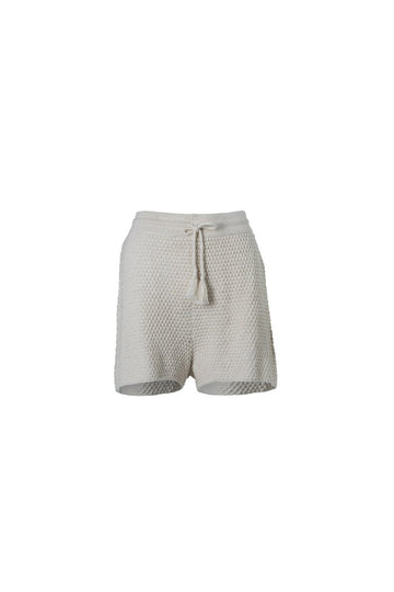 INDIAN SUMMER CO - GOLDEN HOUR KNIT SHORT // NATURAL