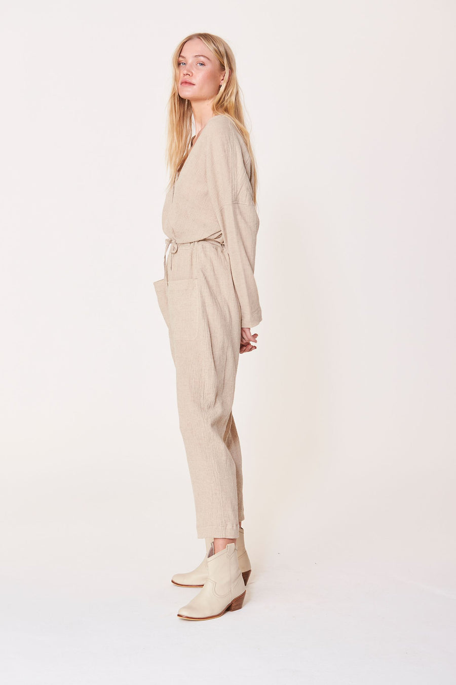 ROWIE THE LABEL - RAPHY JUMPSUIT DUNE