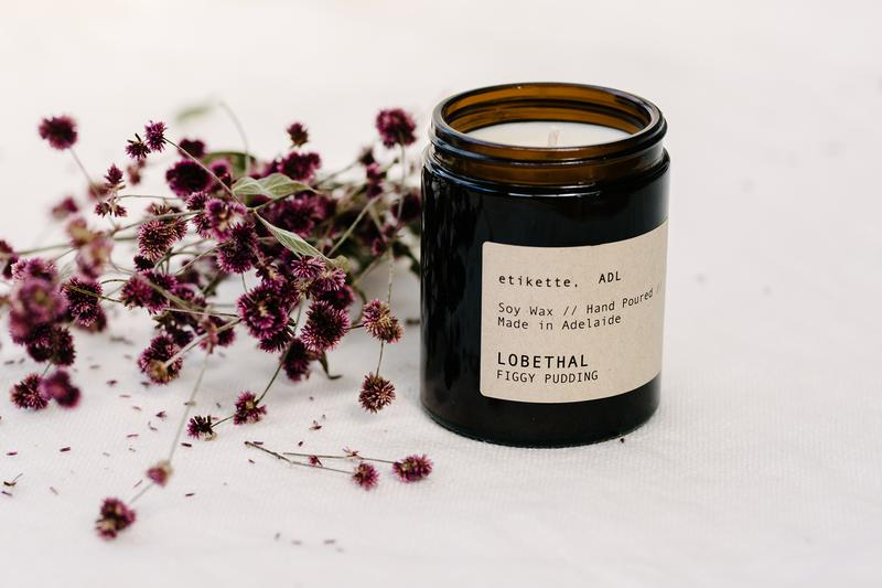 ETIKETTE CANDLES - LOBETHAL // FIGGY PUDDING 175 ml