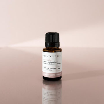 SCENTED DROPS - MOTIVATE PURE ESSENTIAL OIL BLEND