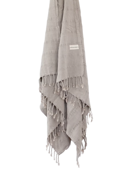 ONEFINESUNDAY CO - STONEWASHED TURKISH TOWELS DESERT SAND