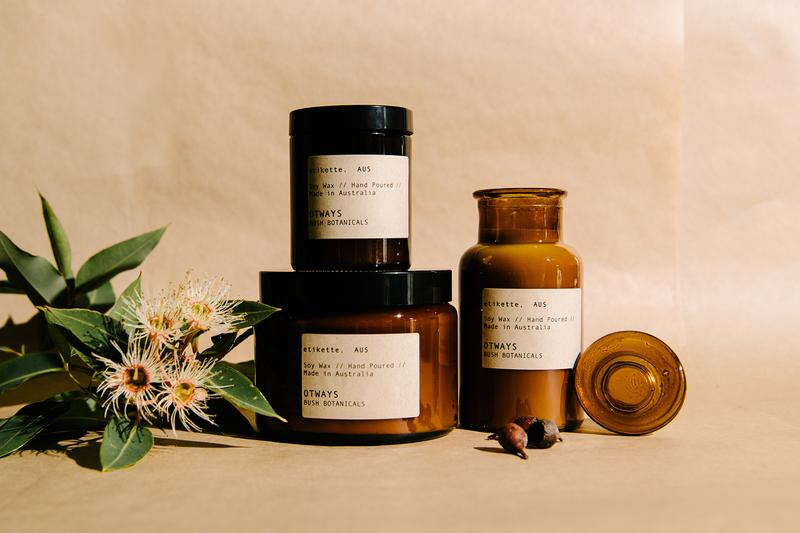 ETIKETTE CANDLES - OTTWAYS // BUSH BOTANICAL