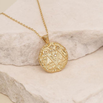 BY CHARLOTTE - LIBRA NECKLACE GOLD