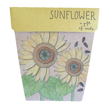 Copy of SOW N SOW - SUNFLOWER GIFT OF SEEDS