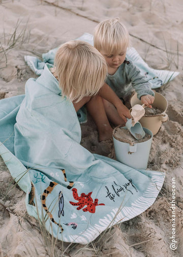 THE BEACH PEOPLE - BUCCANEER KIDS BEACH TOWEL
