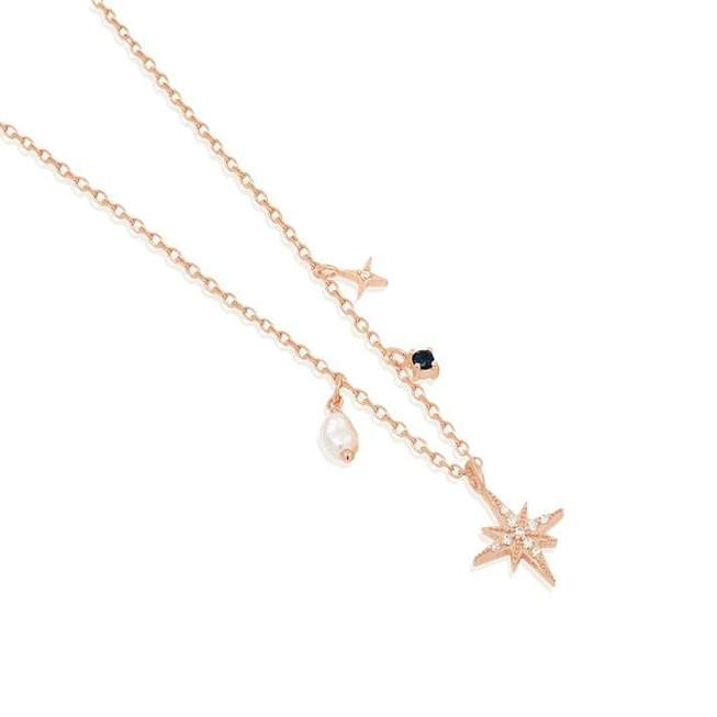 BY CHARLOTTE - STARDUST CHOKER ROSE GOLD
