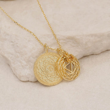 BY CHARLOTTE - I AM AT PEACE // SOLAR PLEXUS NECKLACE