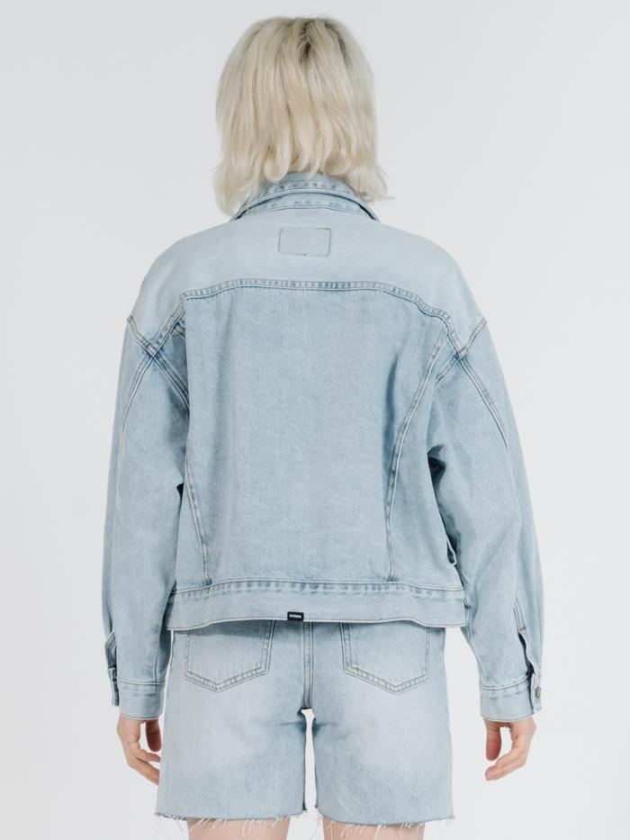 THRILLS - JESSIE JACKET // TIME WORN BLUE