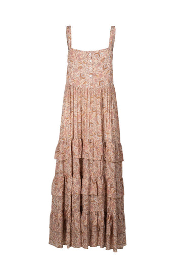 INDIAN SUMMER CO - ROMAER MAXI DRESS // ROSE