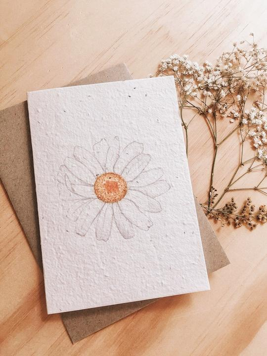 HELLO PETAL - DAZED BLOOMING CARD