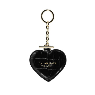 DYLAN KAIN - DYLAN KAIN HEART KEYCHAIN // LIGHT GOLD