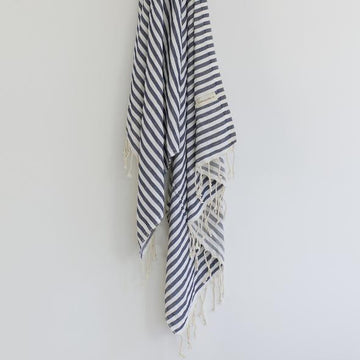 ONEFINESUNDAY CO - CALIFORNIA TURKISH TOWEL // NAVY