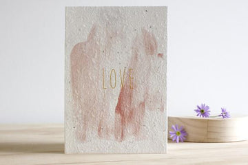 HELLO PETAL - LOVE BLOOMING CARD