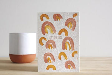 HELLO PETAL - STAY GOLDEN BLOOMING CARD