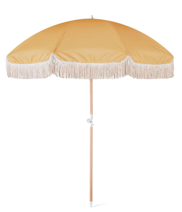 SUNDAY SUPPLY CO - GOLDEN VINTAGE BEACH UMBRELLA
