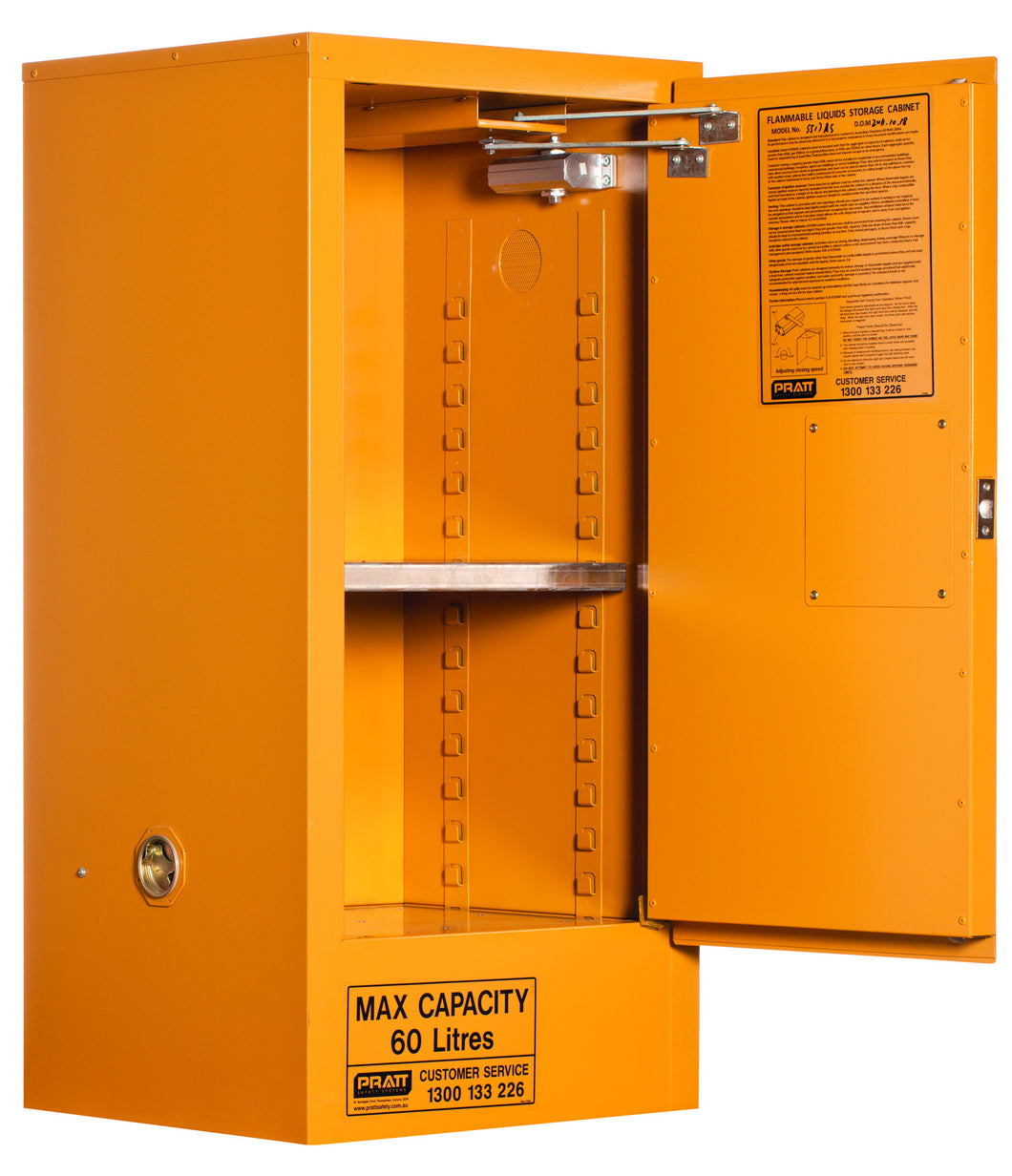 60l Flammable Liquids Storage Cabinet
