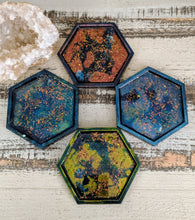 Coasters #1 - Octagon Epoxy set of 4