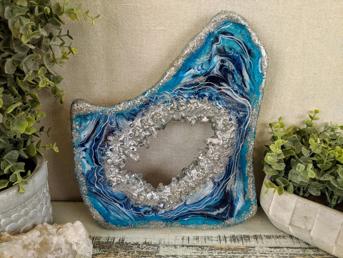 Freeform Geode Small - Contact for available pieces