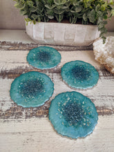 Coasters #31- Agate Epoxy set of 4 - Sold