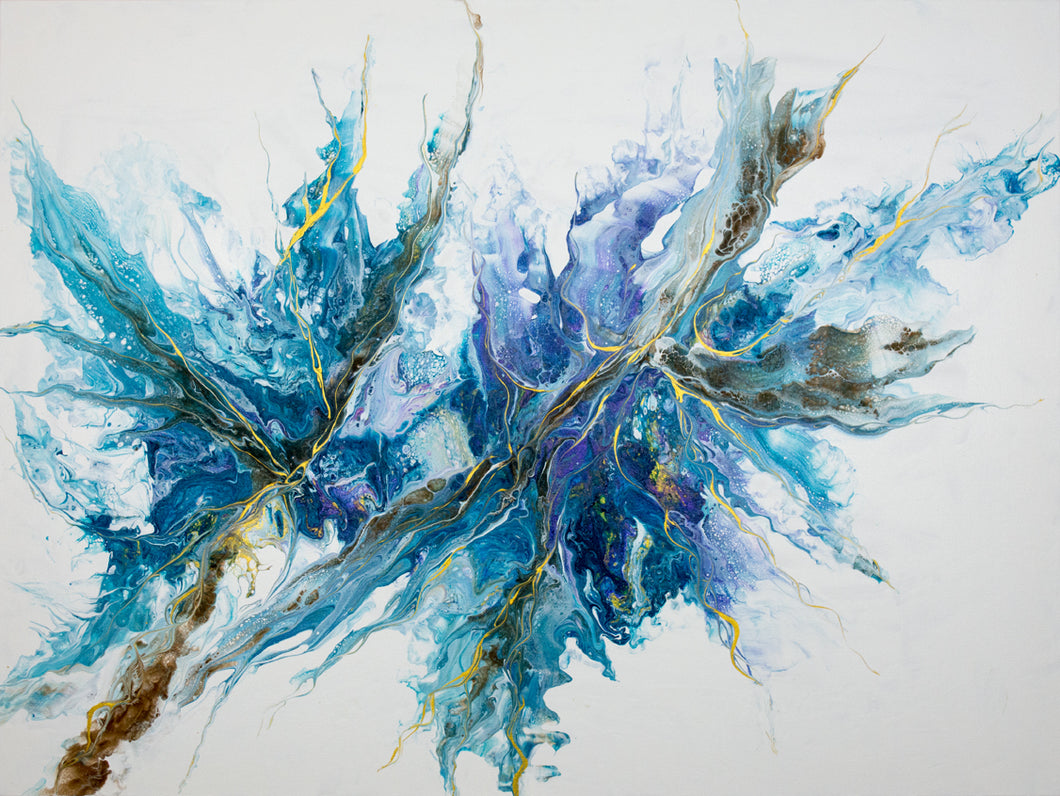 Emergence in the Flow - Original Sold (prints available)