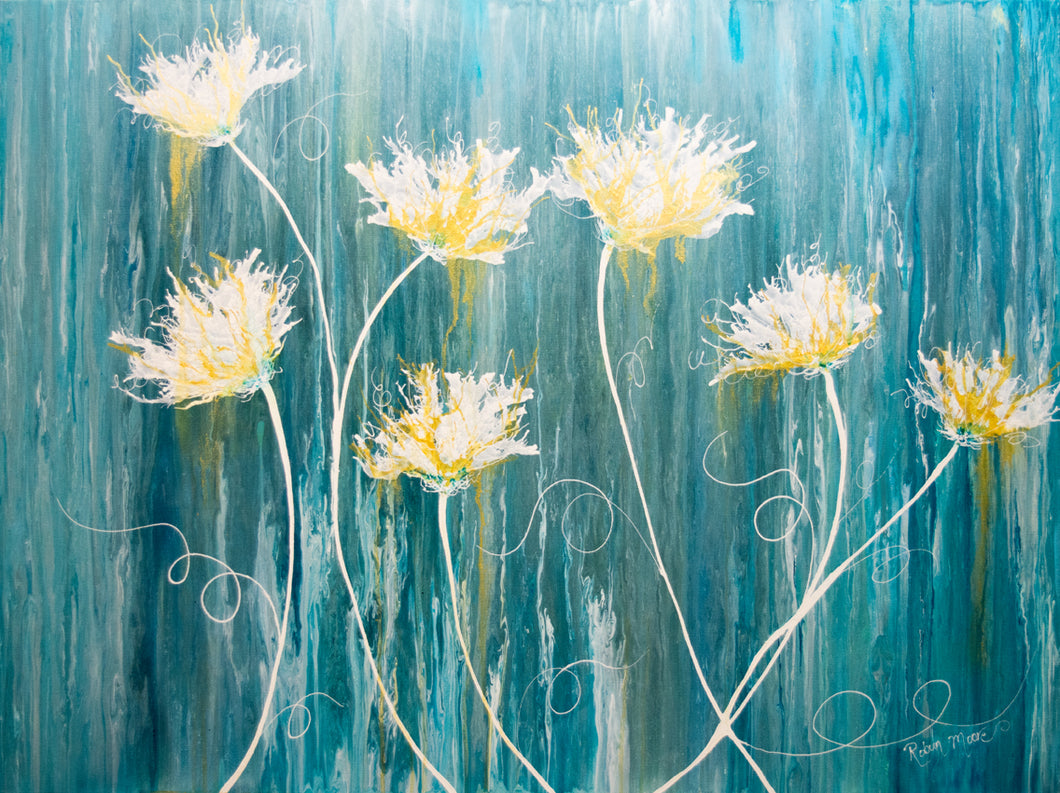 Sunshower - original sold (prints available)