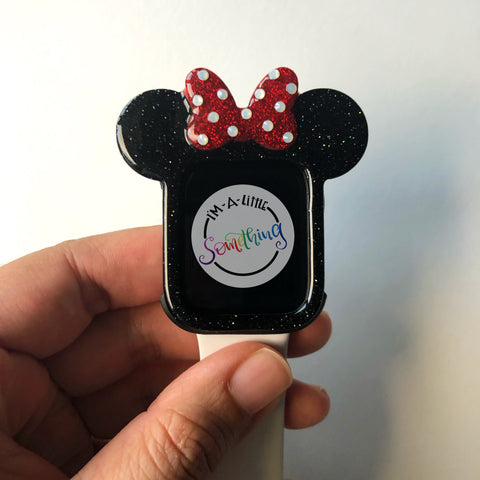 Original Mouse with Bow- Glitter