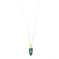 XO Hanalei Blue Labradorite Necklace