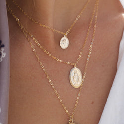 XO Hanalei Medallion Necklace