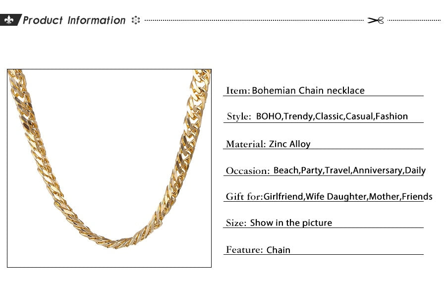 MKE CHAIN NECKLACE