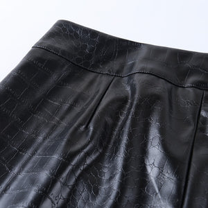 RUSTON FAUX LEATHER PANTS