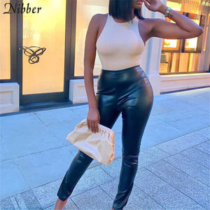LOVED BY YOU LEATHER PANTS
