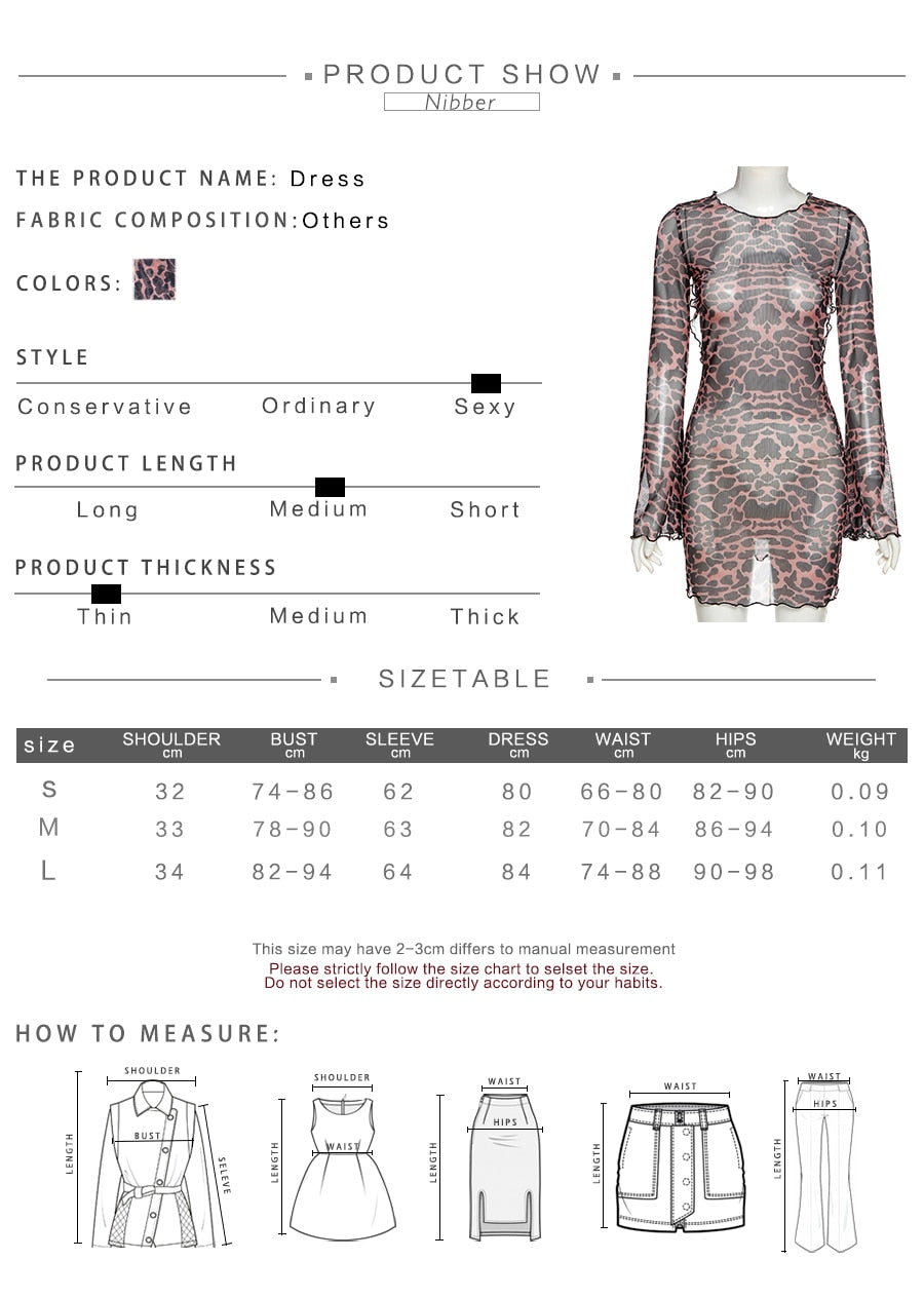 JACIE MESH DRESS