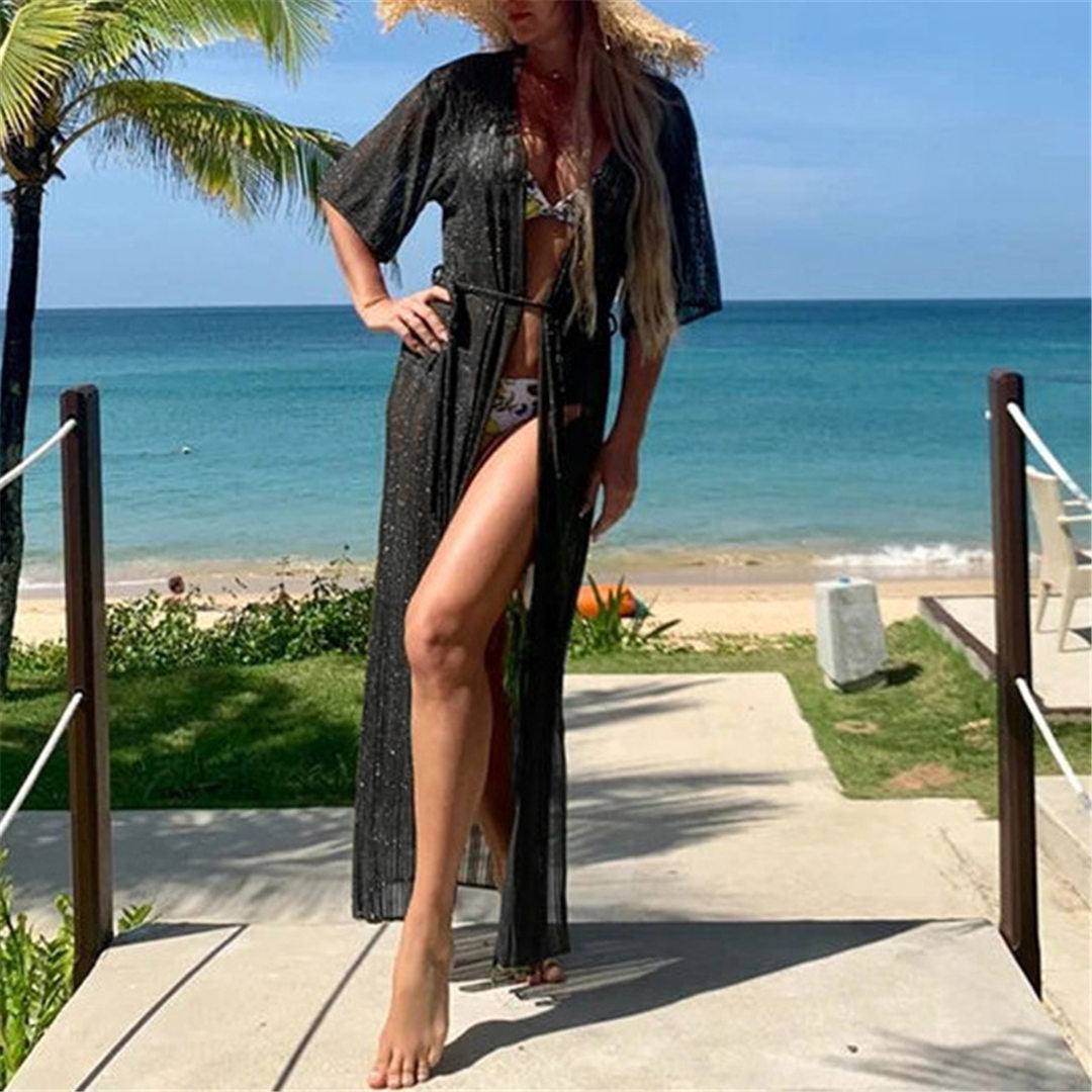 INFLUENCER BEACH COVER UP