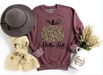 Hello Fall Sweatshirt - Curvy