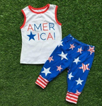 America Star Capri Set
