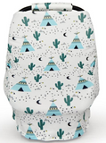 Tepee Cactus Car Seat Cover