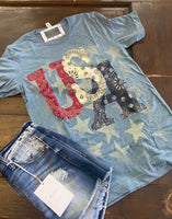 USA T-shirt - Curvy