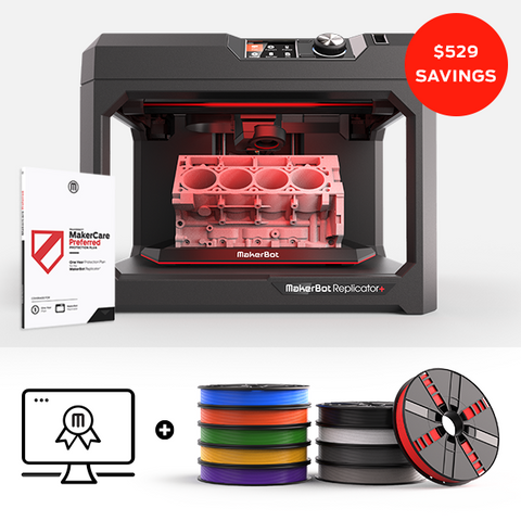 THE MAKERBOT CERTIFICATION BUNDLE