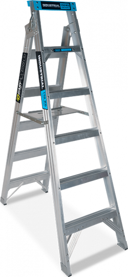 Ox Step Extension Ladders Industrial 150kg