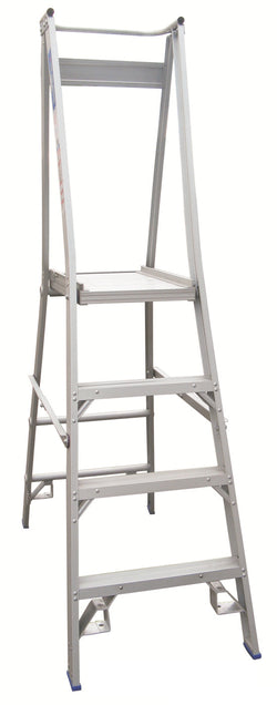 Indalex Pro Platform Step Ladder Heavy Duty Industrial 150kg