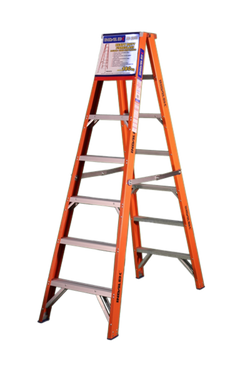 PROSF3D Range - Fibreglass Double Sided Step Ladder 150 to 180kg